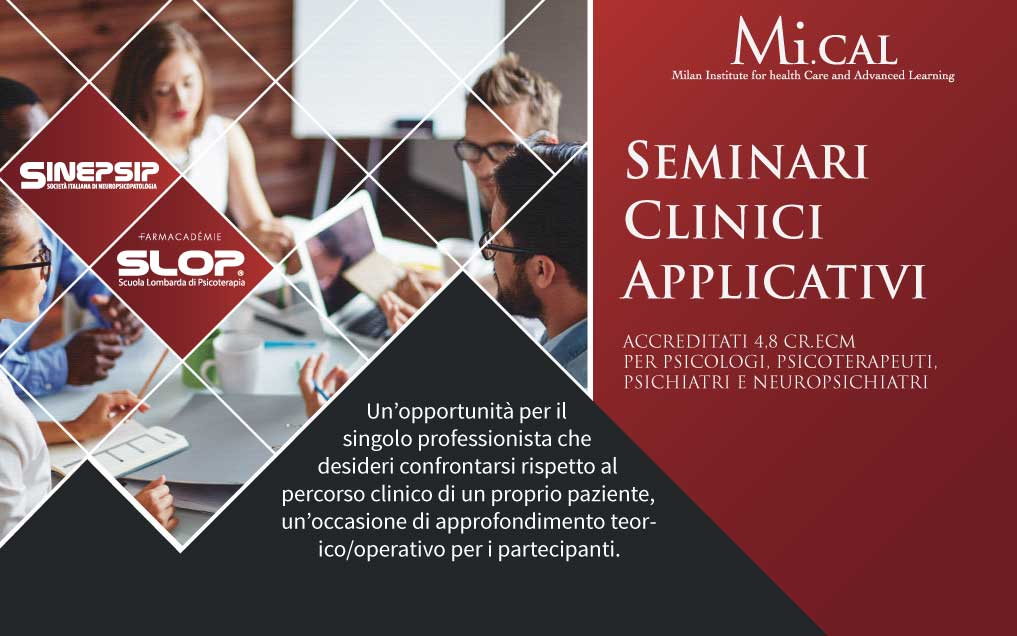 11° Seminario Clinico Applicativo – 16 aprile 2019